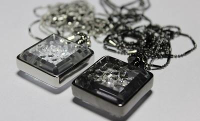 Frank Usher Perfume Bottle Necklaces1