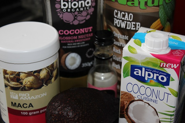 Maca chocolate pudding with alpro crystal and vanilla for Alpro coconut cuisine
