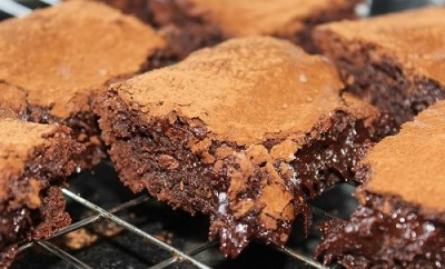 Sticky Chocolate Brownies1