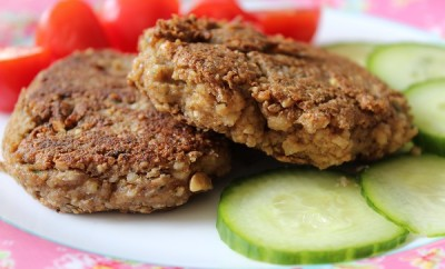 Vegan Nut Tofu Cutlets1
