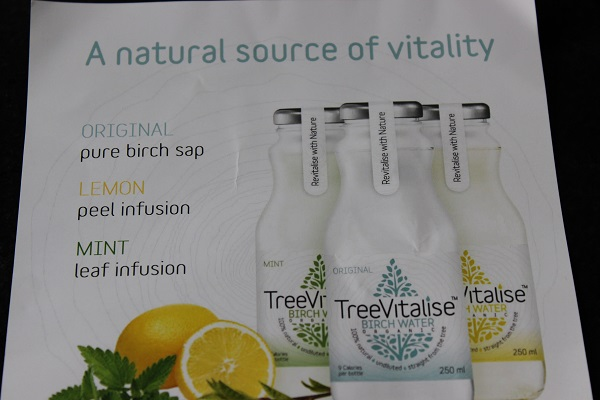 TreeVitalise Birch Water flavours1
