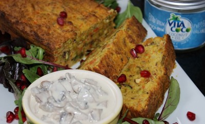 Vegetarian Nut Roast With Vita Coco1