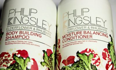 Philip Kingsley Rhubarb Elderflower Haircare1