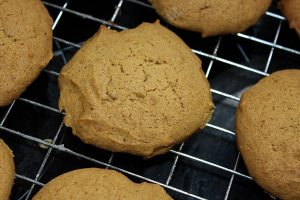 Pumpkin Spiced Cookies Baked1