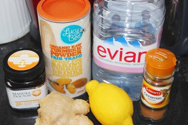 Turmeric Ginger Herbal Tea Ingredients1