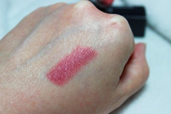 MAC Brave Lipstick Swatch1